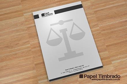 Papel Timbrado Advogado