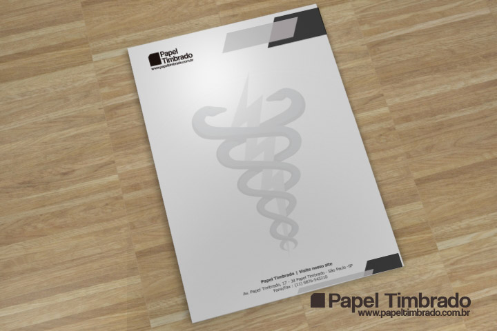 2914c7432 Modelo de Papel Timbrado Fisioterapeuta | Papel Timbrado word